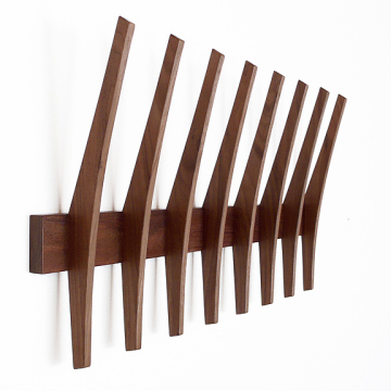 fin coatrack – curved